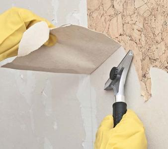 Wall paper removal and wall prep. (wall preparation) Restoration of interior painting and sanding