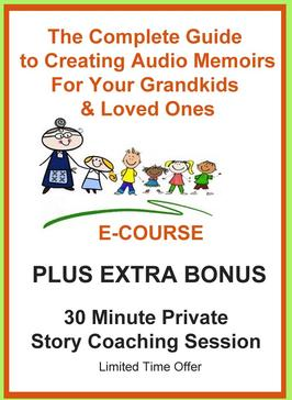 How to Create & Record Audio Memoirs for Your Grandchildren
