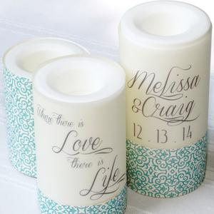 candle wrapping paper