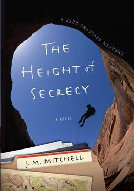 cover for The Height of Secrecy, national park mystery, by J.M. Mitchell
