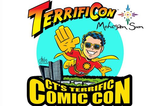 DC Comics Marvel Comics Image Comics Star Wars TerrifiCon CT's Terrific Comic Con at Mohegan Sun in Connecticut #Comicon #CT #ItsTerrificon #MoheganSun #Marvel #SpiderMan #SuicideSquad #MitchHallock