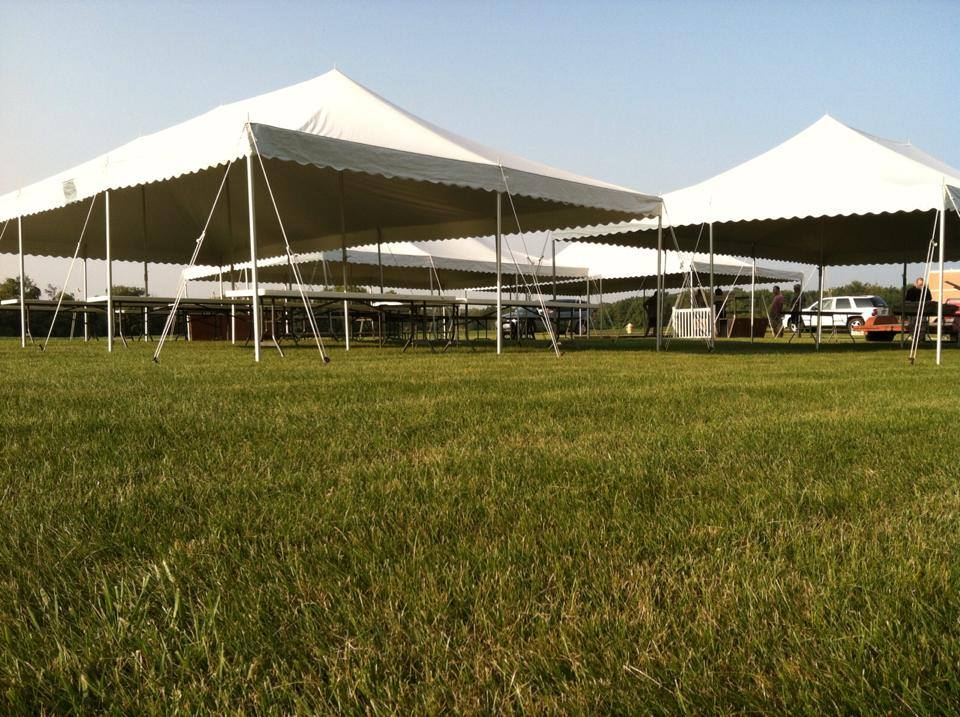 Commercial tent for Parties and Celebrations