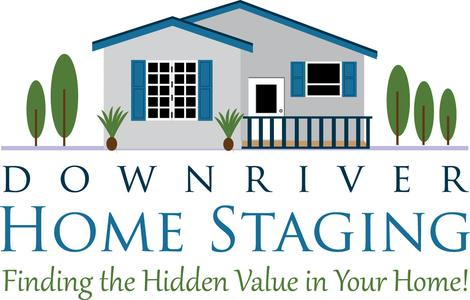 Downriver Home Staging Logo