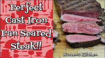 Cast Iron Pan Seared Steak, Noreen's Kitchen