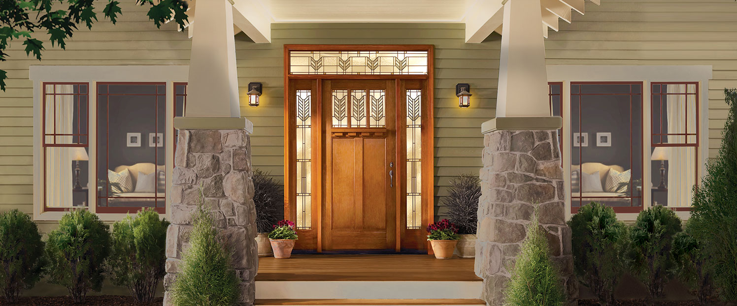 Unfinished Entry Doors