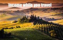Income while you travel