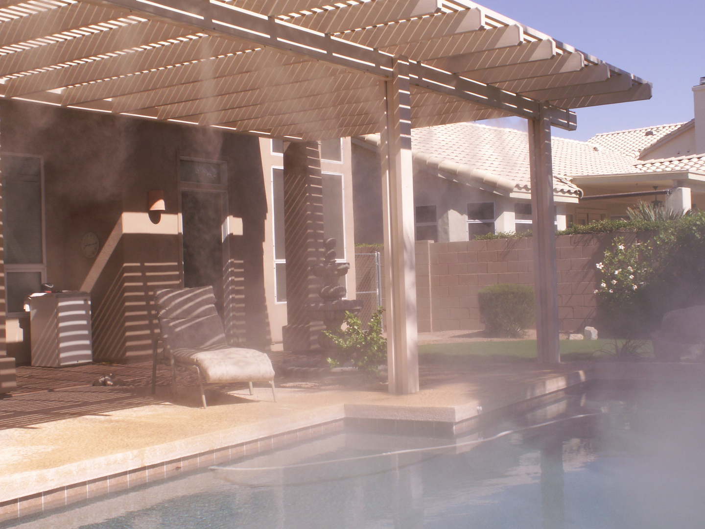 patio misting systems in scottsdale az pacific mist