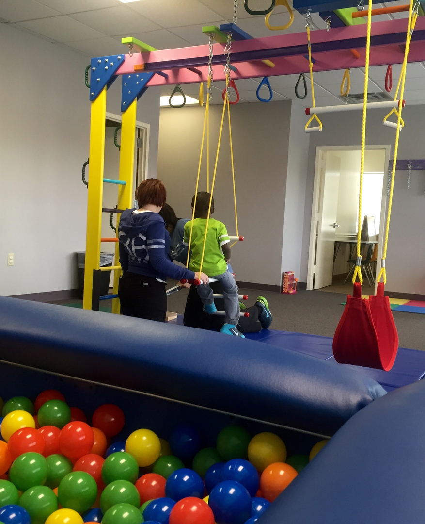 Equipment pediatric physical therapy -  Impressions Pediatric Therapy Has A State Of The Art Facility Including A Sensory Therapy Gym Which Helps Us Provide Therapy Services In A Fun