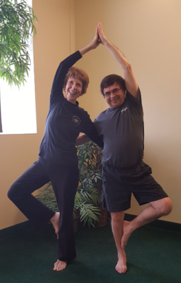 Westfield Yoga Center owners, Husband and Wife business partners