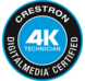 Crestron 4K Digital Media Certified