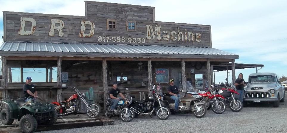 motorcycle repair shop | drd machine | 403 azle hwy. (fm 730