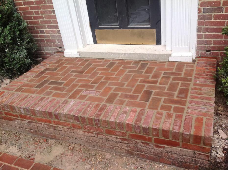 Brick Step And Stoop