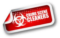 Crime scene cleaners tag representing crime scene cleanup in Florida