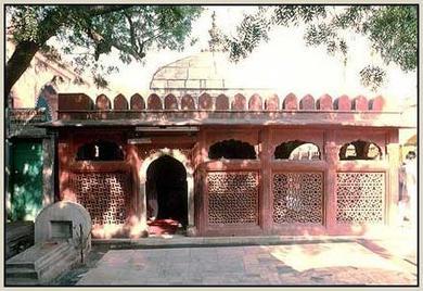Tomb of Hz Amir Khusro In New Delhi -India