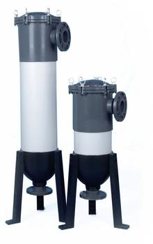 9 Round Multi-Cartridge Filter Housing