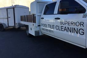 Superior pool tile cleaning yorba linda truck orange county pool tile cleaner