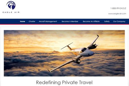Eagle Air Website Image