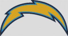 Cross Stitch Charts San Diego Chargers