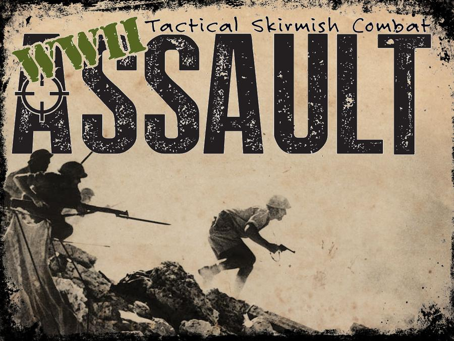 WW2 Assault Tactical skirmish Combat 1