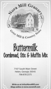 Nora Mill Buttermilk Cornbread Stix Muffin Mix Recipes