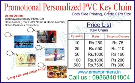hotel keychain, personalized key chain, pvc keychain, keychan for hotel room, key card printer delhi,