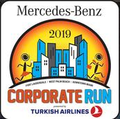 Miami Events; Corporate Run; Downtown Miami; Bayfront Park; 5k race; Wellness Program; Staying Fit' Marathon; runners