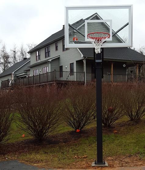 Basketball Hoop Removal Junk Basketball Pole Goal Removal Disposal Haul Away Service And Cost | Omaha NE | Omaha Junk Disposal