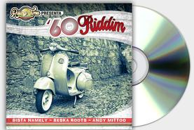 60 RIDDIM COVER COPERTINA CD REGGAE RISING TIME DESIGN PROJECT DESIGN107