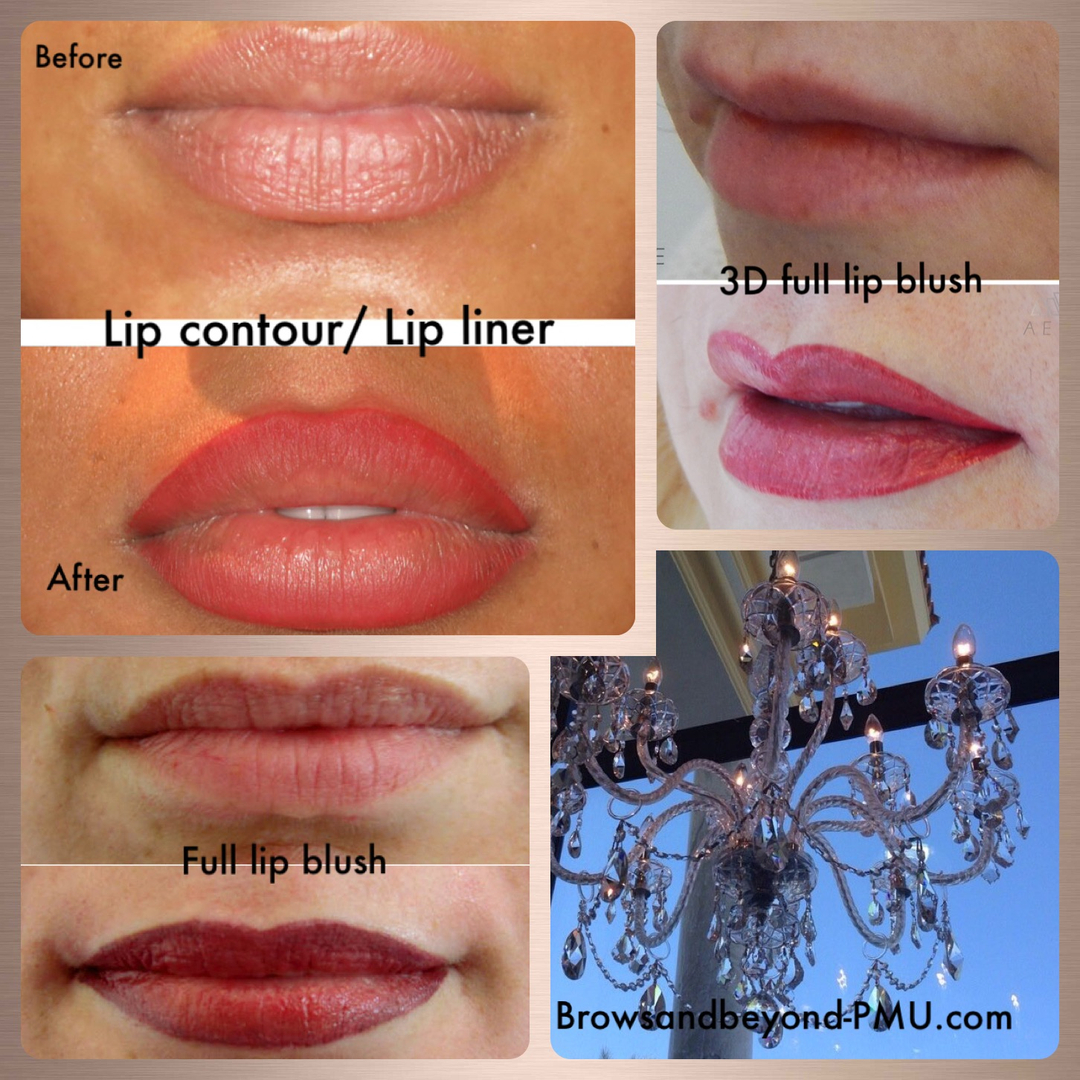 Carmen Grillo - Permanent Makeup Lips, Permanent Makeup