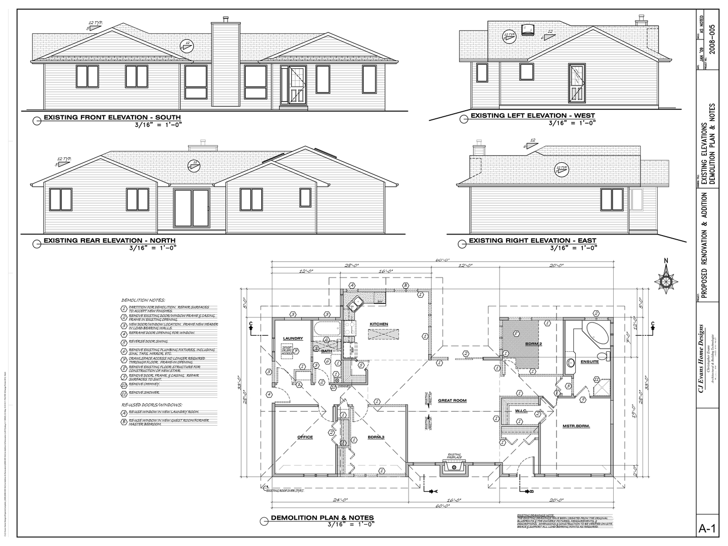 CJ Evans Home Designs: Projects