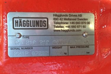 Hagglunds Motor 210 For Sale Hammermill