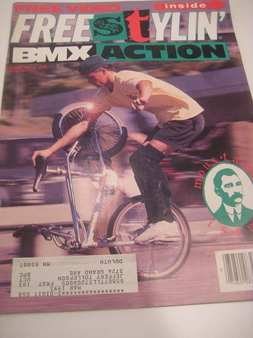 BMX Plus November 1989 $10,000 BMX Bike Freestyle Secrets Shootout Haro Huffy