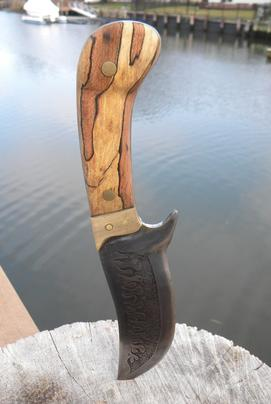 How to make wood handles or scales for knife making. www.diyeasycrafts.com