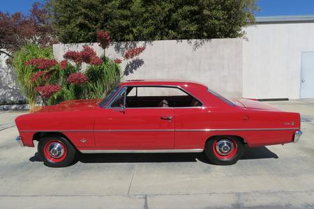 1966 Chevrolet Nova II 2-dr Hardtop Coupe for sale at Motor Car Company original l79 327/350hp engine