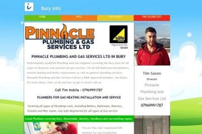 Pinnacle Plumbing Bury