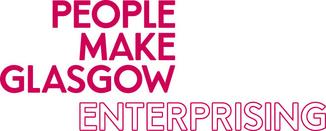 'People Make Glasgow Enterprising' logo