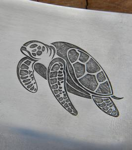 Easy DIY Metal etching with the Silhouette Cameo craft cutting machine. FREE step by step instructions. www.DIYeasycrafts.com