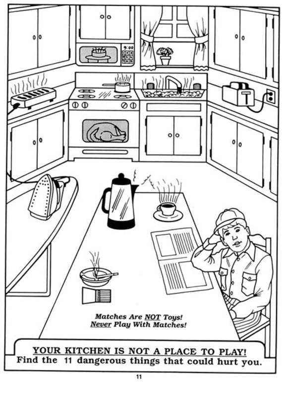 Spot The Fire Hazards Worksheet Livinghealthybulletin