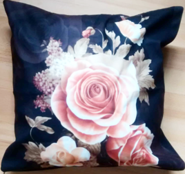 black-flower-cushion-floral-cushion-flower-cushion-flower-patterm-cushion-18inch-the-little-flower-shop-florist-london-florist-brixton-florist-online-cushion-online-homeware-min