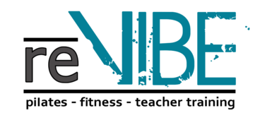 re:VIBE Pilates fitness coral springs studio logo balanced body