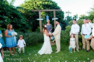 Key West Garden Weddings by Southernmost Photogrphy