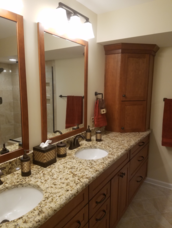 Gorgeous bathroom remodel in North Raleigh