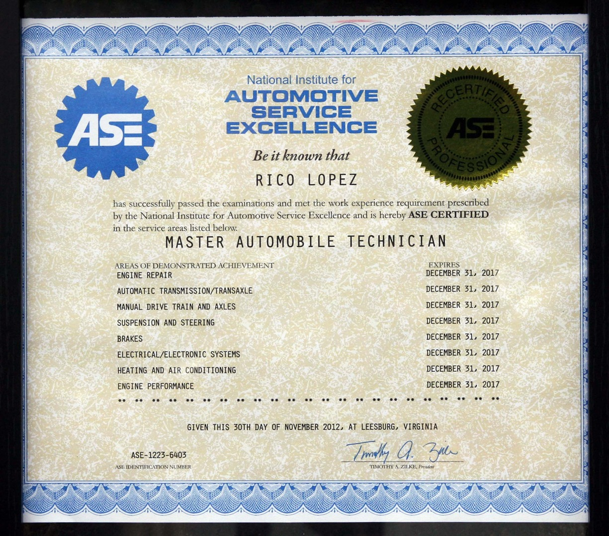 About us master ase certification xflitez Image collections
