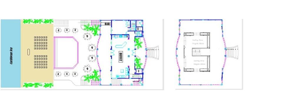 wedding venue floorplan