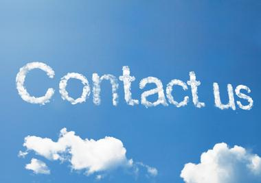 contact us clouds