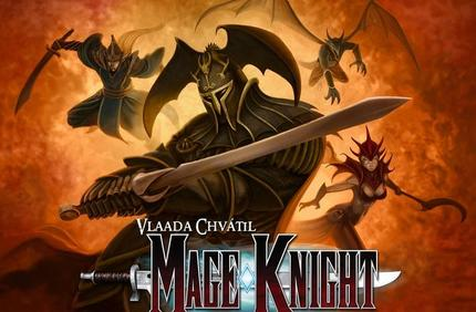 Wizkid's Mage Knight hits the table monthly at the Gaming Annex in Muskegon