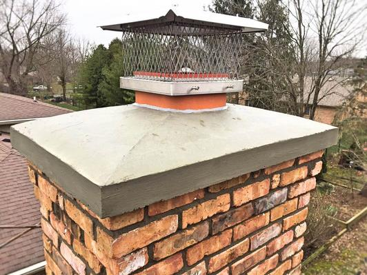 Excellent Chimney Crown Repair Service and Cost in Hickman Nebraska | Lincoln Handyman Services