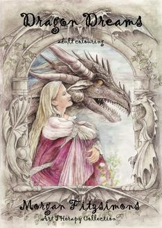Dragon Dreams colouring book by Morgan Fitzsimons