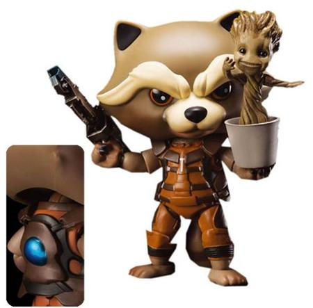 egg attack GOTG2 Rocket Racoon Groot