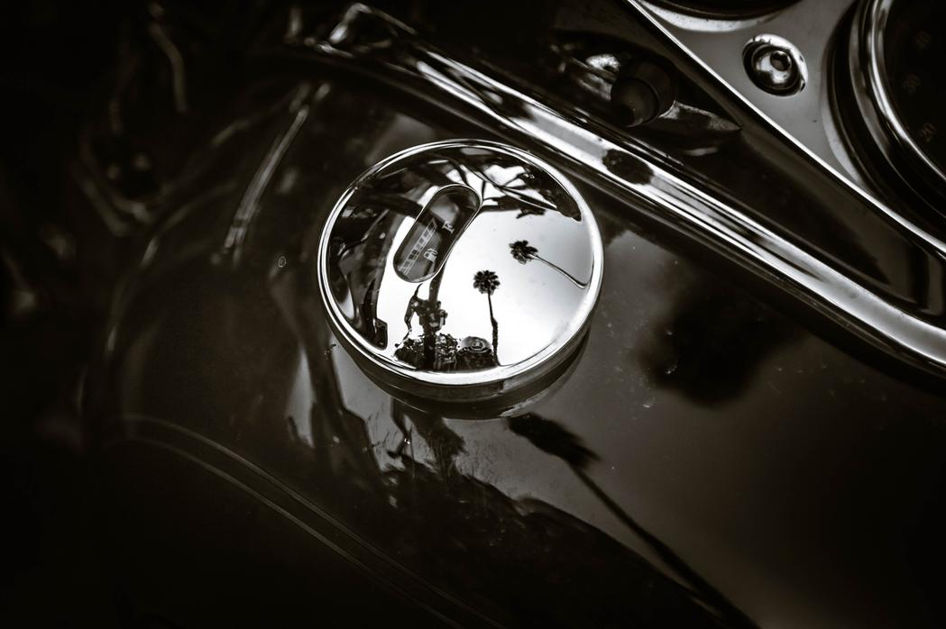 custom harley davidson chrome motorcycle work